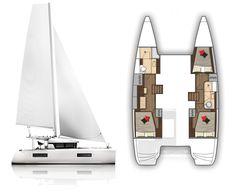 Yacht Design, Boat Design, Sailing Catamaran, Floating House, Boat Building, Outdoor Camping, Sailboat, Cruise, Ships