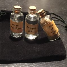 Supernatural vial set, perfect for any fan! :)
