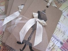 Set of 6 Large Dressform Tags by AnneMariePaperie on Etsy, $ 16.00