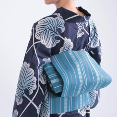 角出し結びで粋なゆかたスタイルに。 #きものやまと #浴衣 #ゆかた #着物 #きもの #キモノ #kimono #yukata #大人ゆかた #大人カジュアル #名古屋帯 #博多織 #粋
