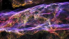 Vibrant Gaseous Ribbons: The Veil Supernova Remnant