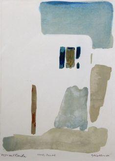 Künstler – Oskar Koller | GALERIE Watercolor Architecture, Watercolor Landscape, Abstract Watercolor, Watercolor Paintings, Minimal Art, Composition Art, Watercolor Sketch, Painting & Drawing, Art Projects