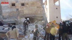 Al menos 50 muertos por ataques contra hospitales y escuelas en territorio sirio