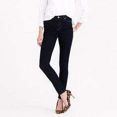 Our toothpick skinny + a higher rise = nipped waist, great stretch and legs for miles (even without heels). Premium Turkish cotton—our latest obsession—puts the slimming power of your favorite body shaper (how did we live before those?) into one major pair of jeans.