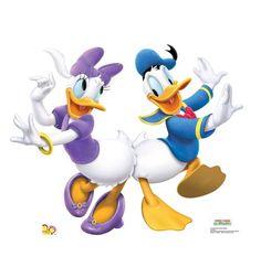 Donald Duck & Daisy Dancing