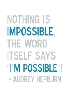 Ah Audrey, always inspiring! by gril
