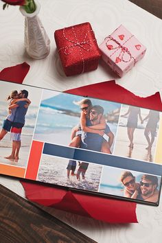 Turn your memories together into a professional looking photo album- at half the cost and in half the time.
