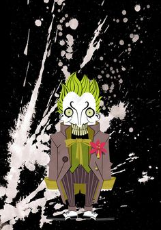 Gods of Gotham by Cosmosnail , via Behance