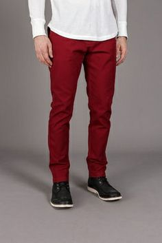 Chuck pants [Red]