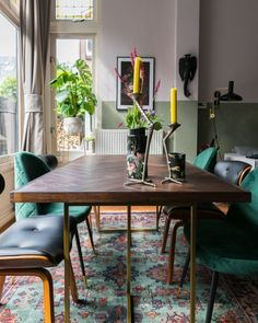 We discovered our Class table and Blackwood chairs in this stylish dining room by Furniture, Interior, Interior Inspiration, Dining, Dining Table, New Homes, Table, Home Decor, Dutch Furniture