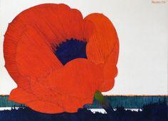 Paintings by Art Hansen  Title: Aldous Huxley