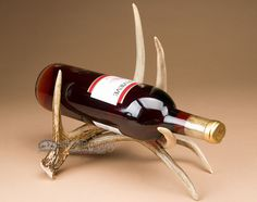 Mission Del Rey Southwest - Real Deer Antler Home Wine Rack, $69.95 (http://www.missiondelrey.com/real-deer-antler-home-wine-rack-wr3/)