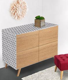 diy dco sticker dcoratif pour meuble plus facile poser que le papier peint dcorez vos meubles avec des adhsifs sur mesure