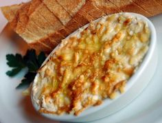 Etsy Freethinkers: The Recipe Corner - Crab and Shrimp Dip