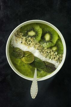 Mojito Smoothie Bowl à la Mangue [Vegan   Sans Gluten]