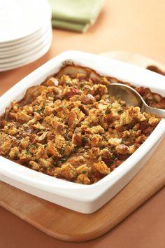 Chicken with Mixed Beans Casserole #Recipe - #LowSodium #chickendotca