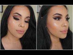 Everyday Go To Makeup Glam | juicyyyyjas - YouTube