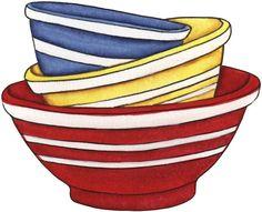clipart food clips pinterest cherries decoupage and clip art rh pinterest com mixing bowl clip art free mixing bowl clipart free