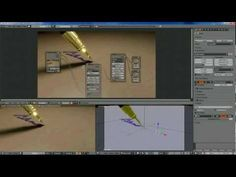 Blender Dynamic Paint easy Handwriting Tutorial - YouTube