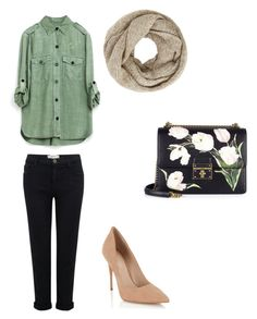 """""""❤️"""" by indahhalit on Polyvore featuring Current/Elliott, Dolce&Gabbana, Lipsy and John Lewis"""