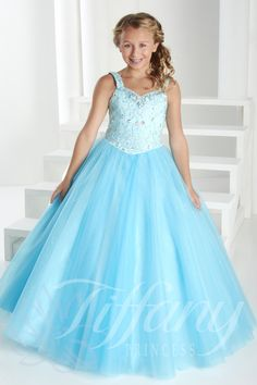 Tiffany Princess Little Girls Dress 13409 - Everything4pageants.com