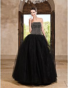 TS+Couture®+Prom+/+Formal+Evening+/+Quinceanera+/+Sweet+16+Dress+-+Vintage+Inspired+Plus+Size+/+Petite+A-line+/+Ball+Gown+/+Princess+Strapless+–+USD+$+570.00