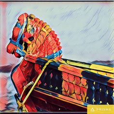 Boat Art #sea #art #boat #ocean #illustration #water #drawing #nature #landscape #artwork #artistic #abstract #color #picture #scenic #style #beach #modern #paint #painting #canvas #graphic #romantic #bright #summer #prisma