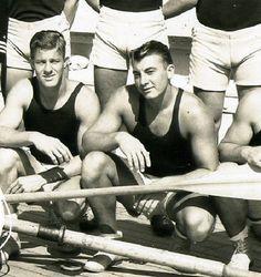 Rowing crew, 1940s