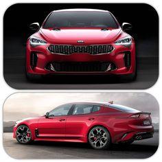 2017 Kia Stinger Kia Stinger, Korea, Design Cars, Kia Motors, Suv Trucks, Flying Car, Kia Optima, Hot Rides, All Cars