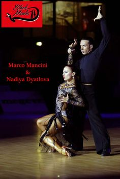 Marco Mancini e Nadiya Dyatlova in una straordinaria posa di rumba. Black Mamba è anche eleganza. #dance #Blackmamba #love #dancesport #latin #ballroom #dancing #passion #dance #amazing #awesome #dancewear #beauty #dancer #best #moments #competition #dress #woman #nice
