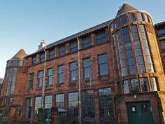 Scotland Street School. Charles Rennie Mackintosh. 1904. Category A Listed. Photo: Alan Crumlish.
