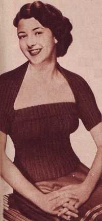 Sunflower Tube Top and Bolero from The Lux Book, 1951..FREE PDF  Love these vintage patterns...the style has returned......
