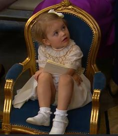 Christening of Princess Leonore of Sweden June 8, 2014, princess Estelle