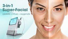 Cel mai eficient tratament facial - OXYGENEO. Stimulează mecanismul intern de oxigenare a pielii. Tehnologie de vârf de la Pollogen, Israel