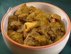 curried goat, a Caribbean comfort food :)
