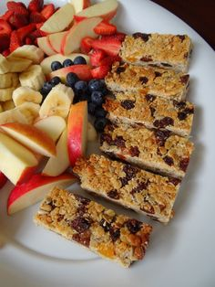 Muesli Bar Recipe (nut free) | Be A Fun Mum