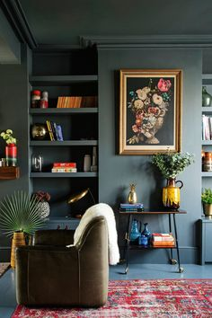 Modern Victorian Style: Wall Treatments and Art + Get the Look - Emily Henderson