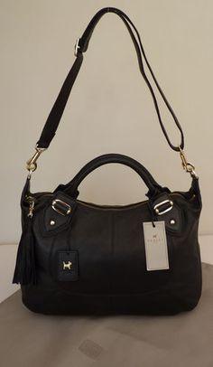 "Radley Black Large Shoulder/Multiway Bag - ""Compton"" - BNWT - RRP £279 - NEW | eBay"