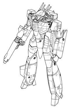 VF-1S Block 5 Valkyrie Battloid 1