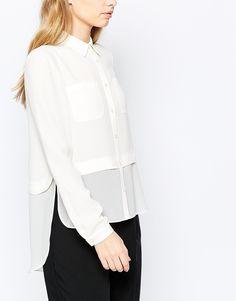 Изображение 3 из Кремовая рубашка Sisley