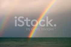 Somewhere over the Rainbow  (After the Storm) royalty-free stock photo