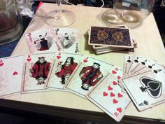 """Old West Poker Cards - """"Antique style"""" playing cards. Includes two jokers and matching tuck box. Gambling Games, Gambling Quotes, Snacks For Work, Healthy Work Snacks, Gourmet Dog Treats, Pin Up Tattoos, Dinner Recipes For Kids, Old West, Slot Machine"""