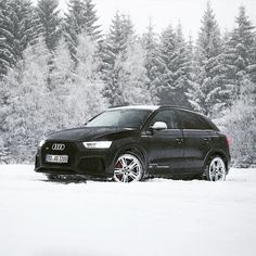 There is a lot of 'black snow' this - Audi ready for ---- oooo - what else pic ---- Black Audi, Volkswagen Group, Audi Q3, Love Car, Car And Driver, Sport Cars, Luxury Cars, Cool Cars, Dream Cars