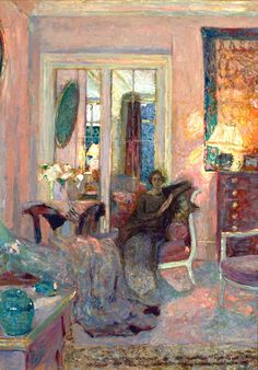 Princess Bibesco - Edouard Vuillard