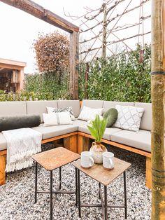Outdoor Sectional, Sectional Sofa, Outdoor Furniture Sets, Outdoor Decor, Garden Inspiration, Relax, Patio, Home Decor, Modular Couch
