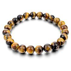 Men Women Unisex Tiger Eye Love Trendy Bracelet     FREE Shipping Worldwide     http://fashjewels.de/tiger-eye-love-buddha-bracelets-bangles-trendy-natural-stone-bracelet-for-women-famous-brand-men-jewelry-2016-new-pulseras/