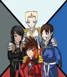 Masters of Spinjitzu by ExxDxx13.deviantart.com on @deviantART
