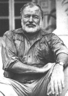 Ernest Hemingway, read anything by Papa, his quiet way of telling a story lulls you into a false sense of security every time. Ernest Hemingway, Hemingway Quotes, Great Quotes, Quotes To Live By, Me Quotes, Inspirational Quotes, Famous Quotes, Poetry Quotes, Evil Twin