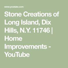 Stone Creations of Long Island, Dix Hills, N. Dix Hills, Deer Park, Remodels, Long Island, Kitchen Interior, Home Improvement, Stone, Bathroom, Youtube