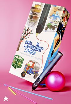 For your kids who love to draw, this 3Doodler pen brings drawings to life, right before your eyes! The no mess, non-toxic 3D pen immediately hardens, allowing you to literally draw in three dimension! Shop this and more crafty gifts at macys.com!